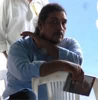 Jaime Ya�ez, poeta y trovador. Foto: A.C./Conaculta