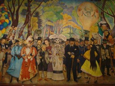 Secretar a de cultura for El mural pelicula