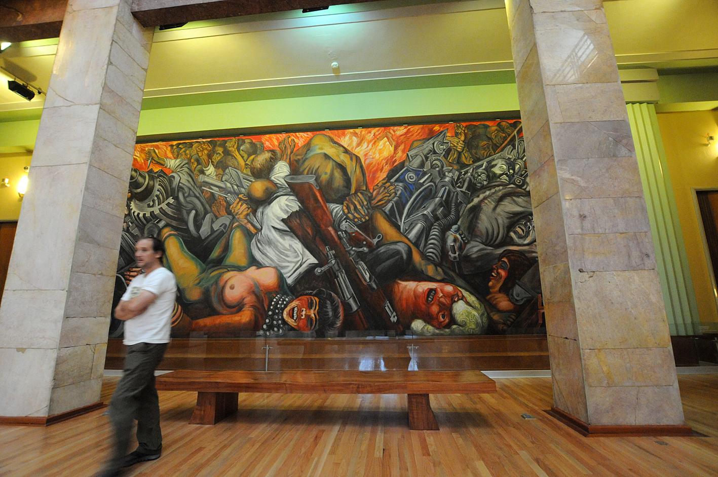Secretar A De Cultura Kit De Prensa Realizar N Trabajos De Conservaci N En Los Murales Del