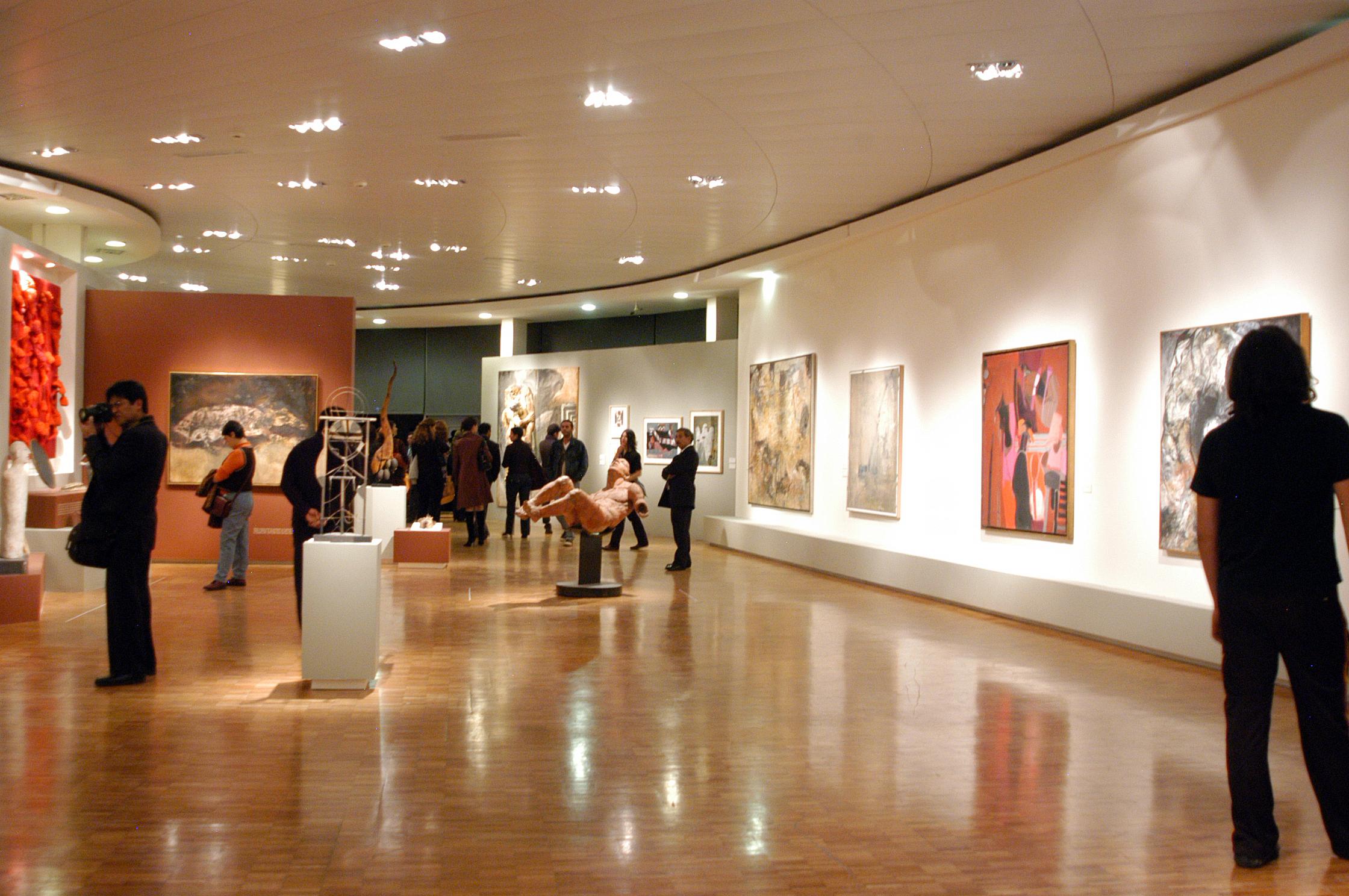 Obras Arte Moderno el Museo de Arte Moderno
