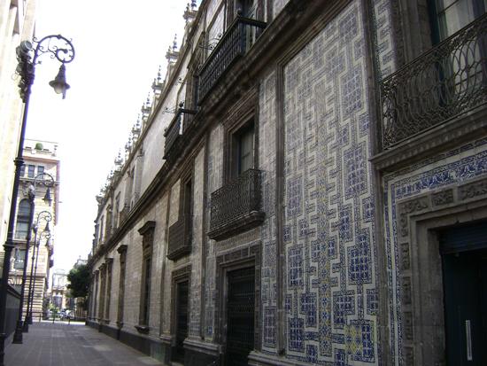 Centro hist rico de la ciudad de m xico for La casa del azulejo san francisco